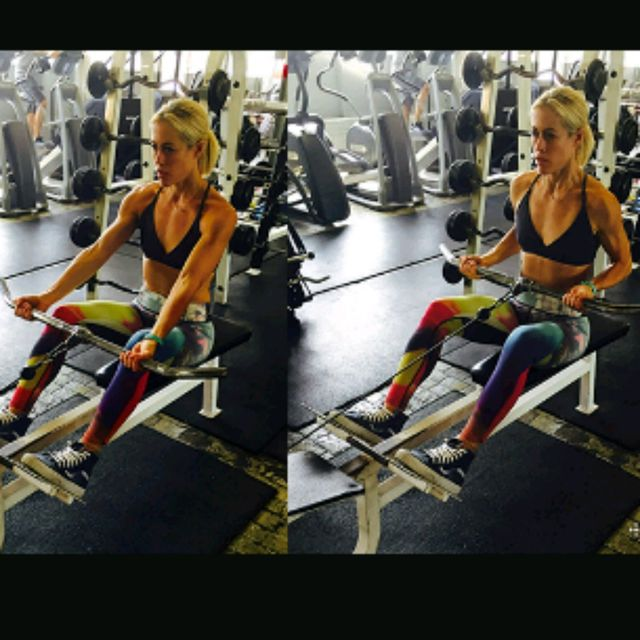 How to do: Seated Reverse Grip Row - Step 1