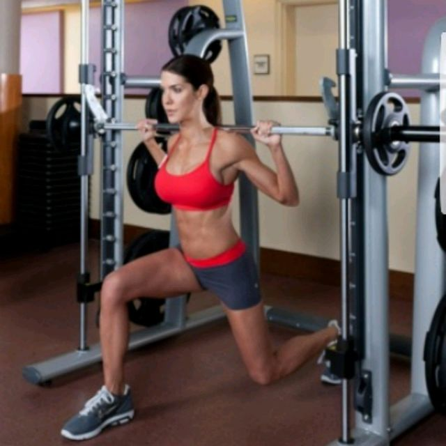 How to do: Smith Split Squats - Step 1