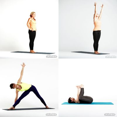  Yoga & Stretch *E