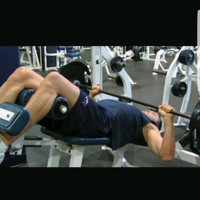 How to do: Decline Bench Press 8 - 10 - Step 1