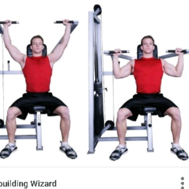 How to do: Shoulder Press - Step 1