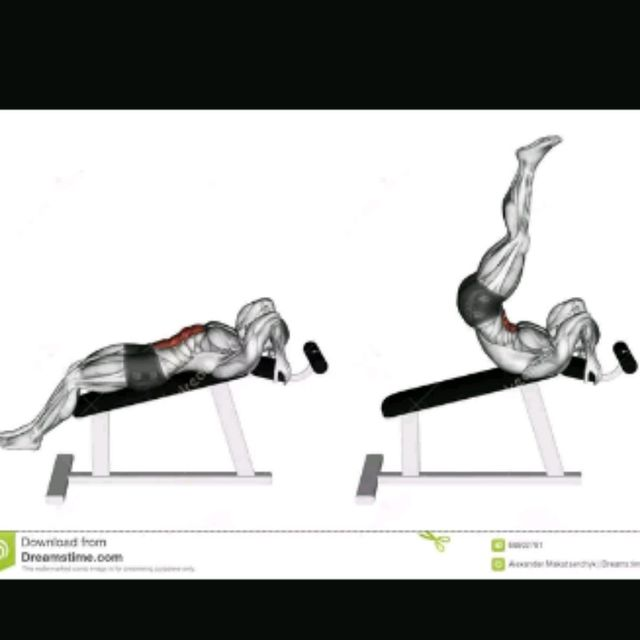 How to do: Decline Leg Lifts - Step 1
