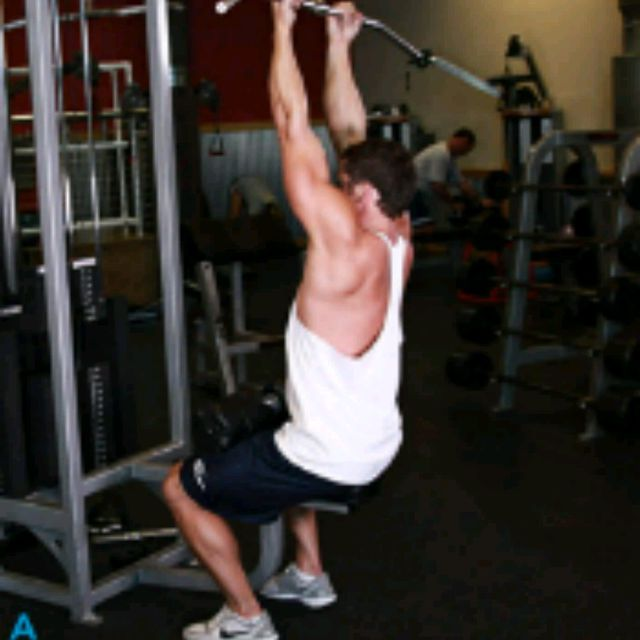 How to do: Reverse Grip Pulldowns - Step 1