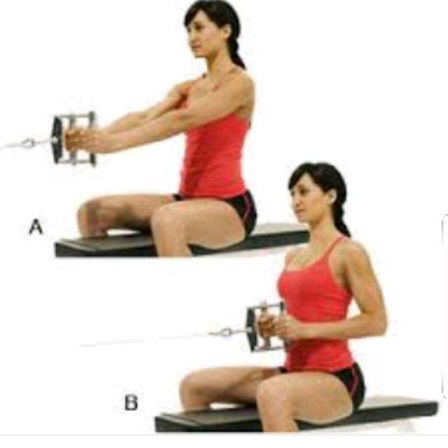 How to do: Seated Row (close Grip) - Step 1