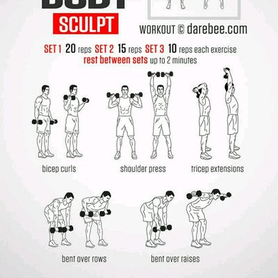 Bent Arm Raises