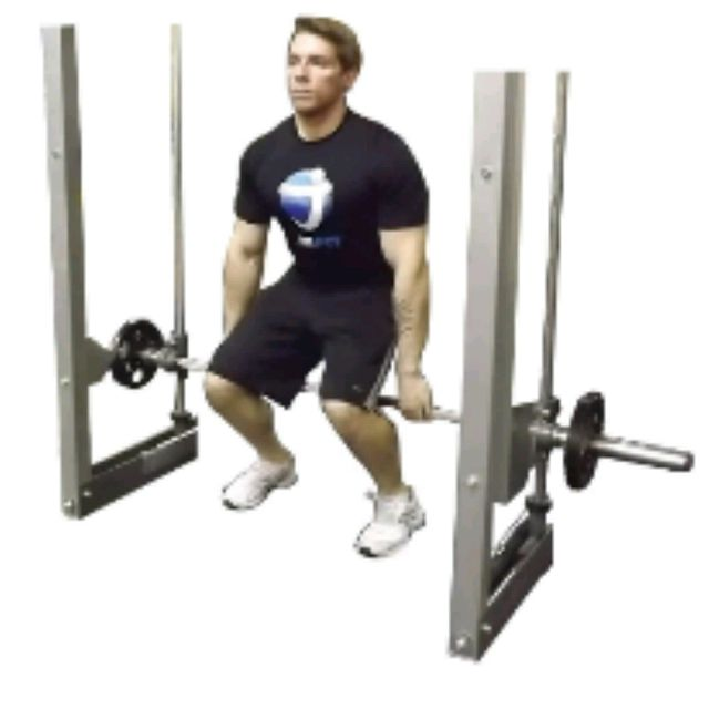 How to do: HACK SQUATS (WIDE STANCE) - Step 2