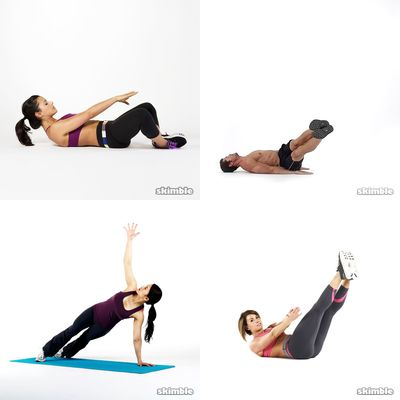 abs + lower back