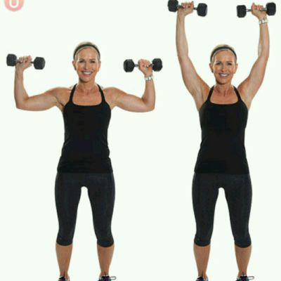 Alternating Shoulder Press