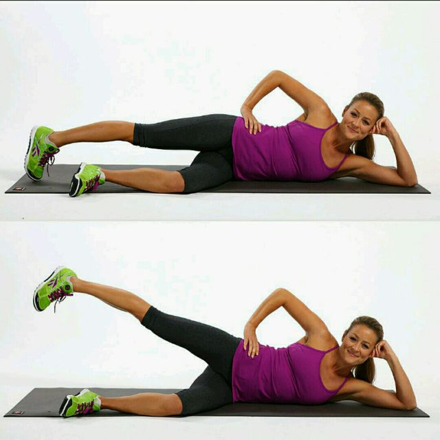 How to do: Side Leg Raises, Weight By Hip - Step 1