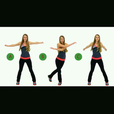 Arm Swings + Lateral Steps