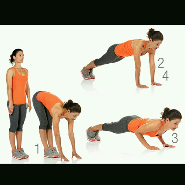 How to do: Walkout To Pushup - Step 1