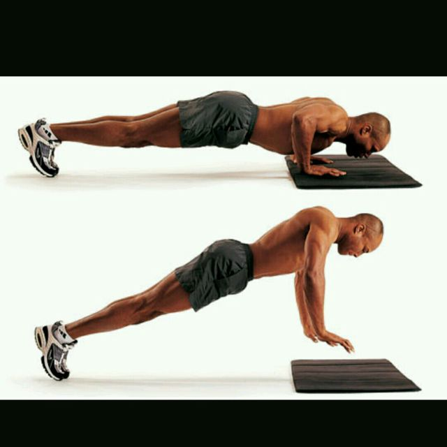 How to do: Explosive Pushups - Step 1