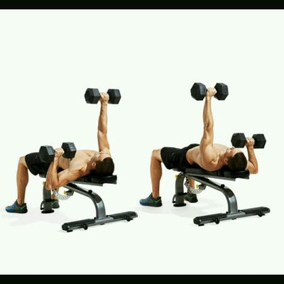 Alternating Dumbbell Chest Press