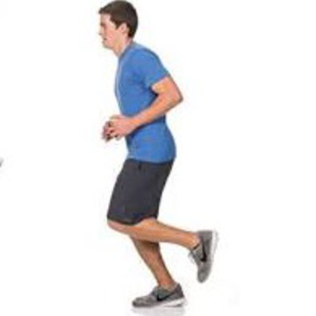 How to do: Single Leg Hop Each Leg - Step 1