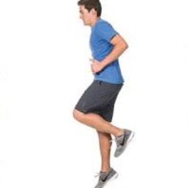 How to do: Single Leg Hop Each Leg - Step 2