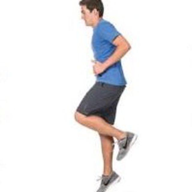 How to do: Single Leg Hop Each Leg - Step 2