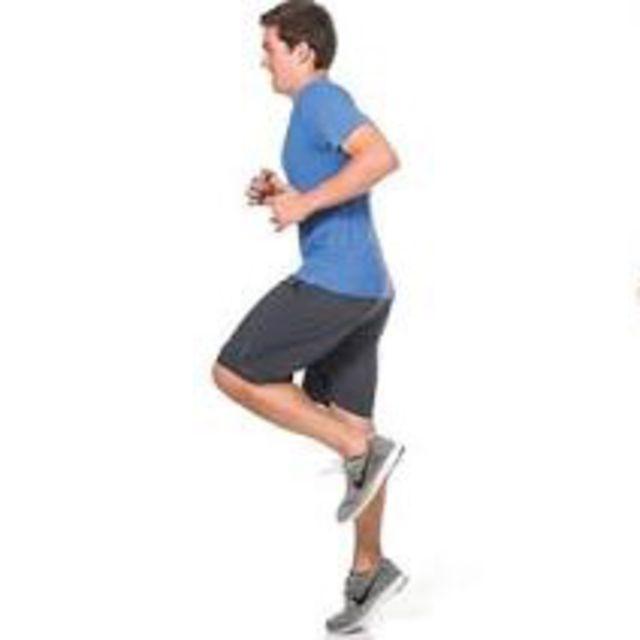 How to do: Single Leg Hop Each Leg - Step 3