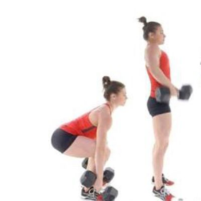 Dumbbell Power Clean