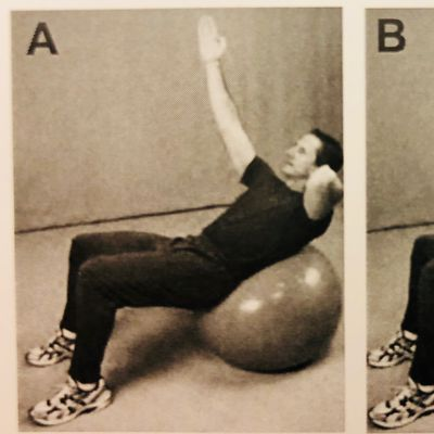Bracing - Ball Exercise