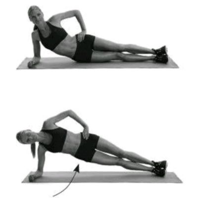 Side Plank With Hip Raises