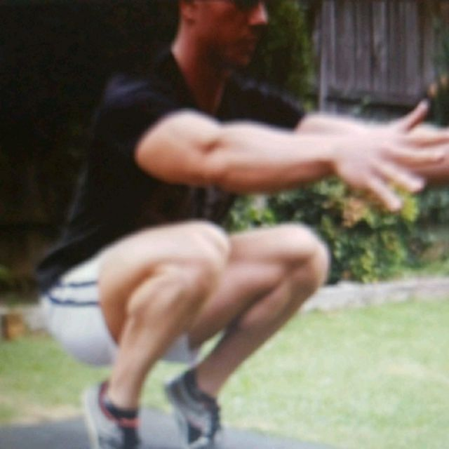 How to do: Bent Calf Raise - Step 1