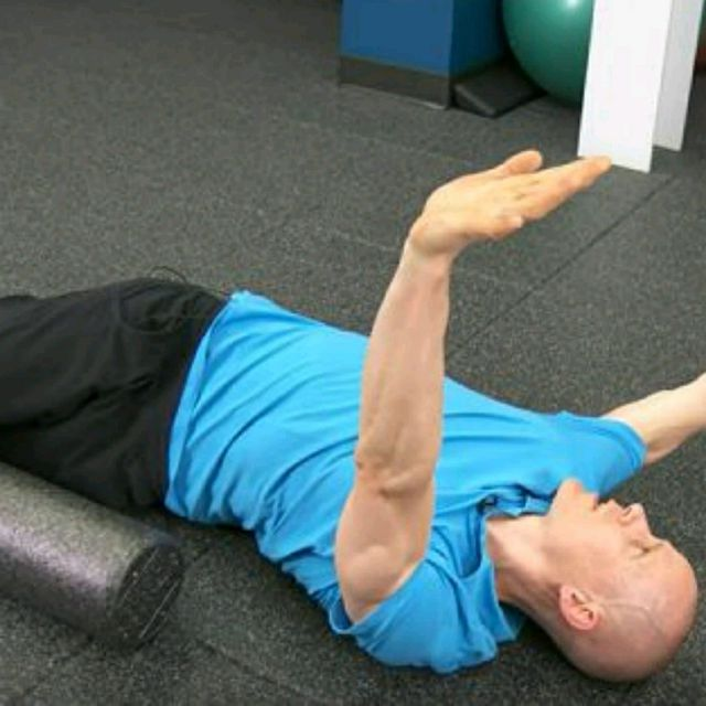 How to do: Thoracic Spine - Step 1