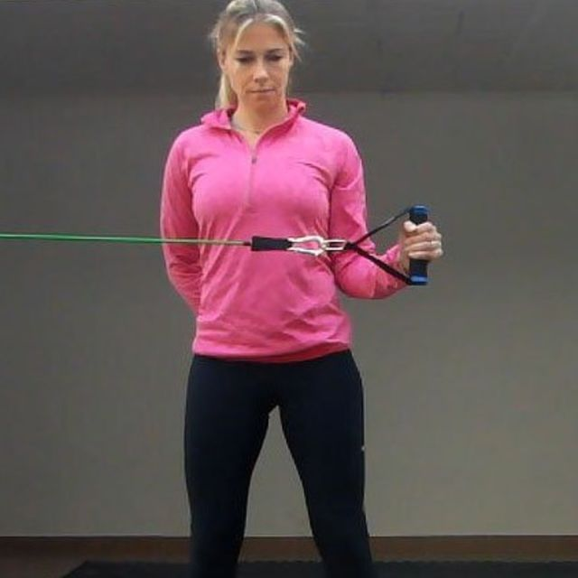 How to do: Active Resisted External Rotation - Step 1