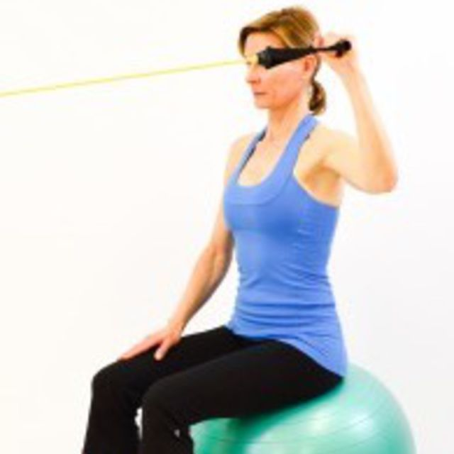How to do: 90 Degree External Rotation with Tubing - Step 1