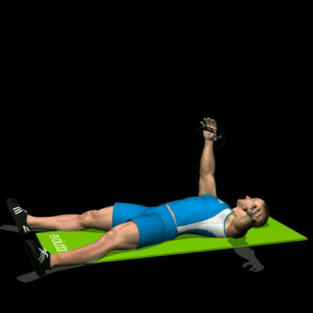 How to do: Kettlebell Sit Up - Step 1