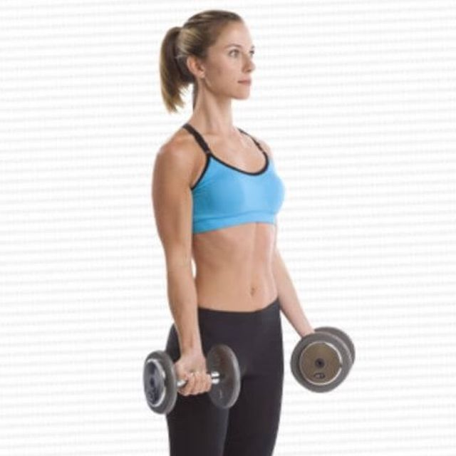 How to do: Basic Bicep Curl - Step 3