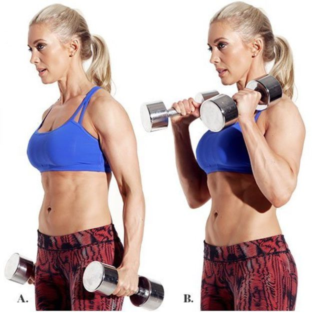 How to do: Hammer Curl - Step 4
