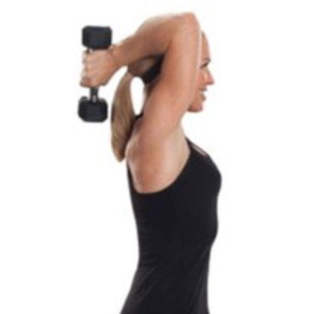 How to do: Tricep Extension - Step 6