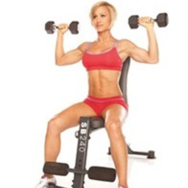 How to do: Shoulder Press - Step 5