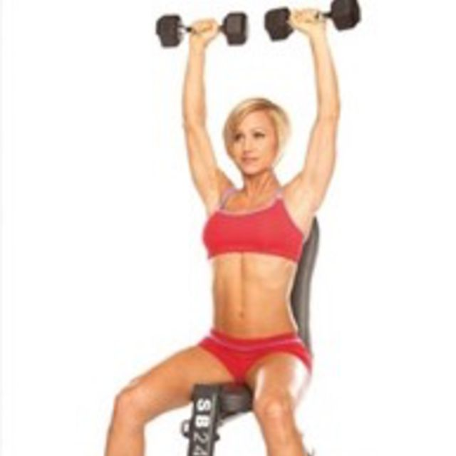 How to do: Shoulder Press - Step 6