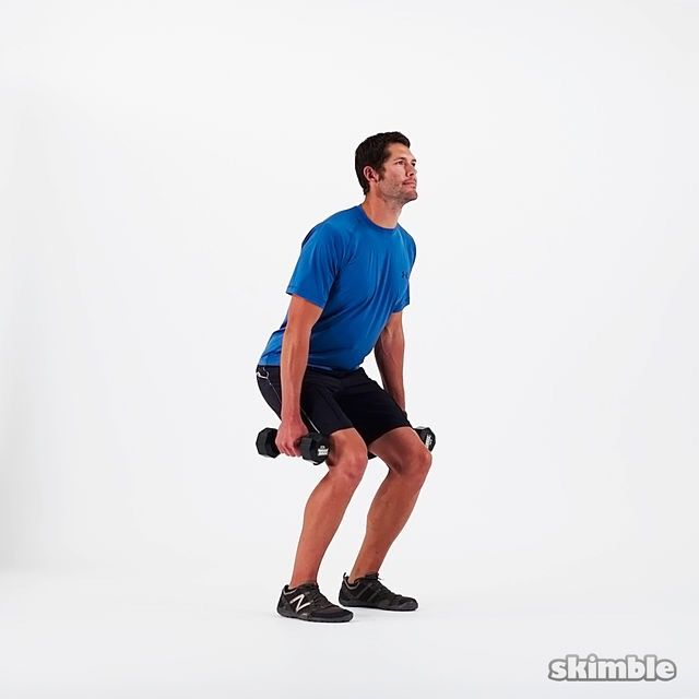 How to do: Farmer's Kettlebell Squat - Step 1