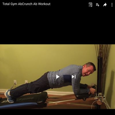 Total Gym Ab Crunches