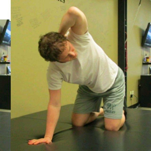 How to do: Quadrupled T Spine - Step 2