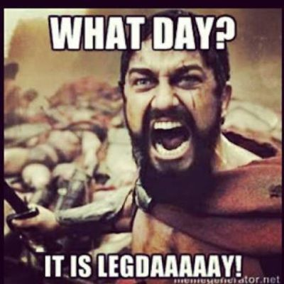 Legs Day 16