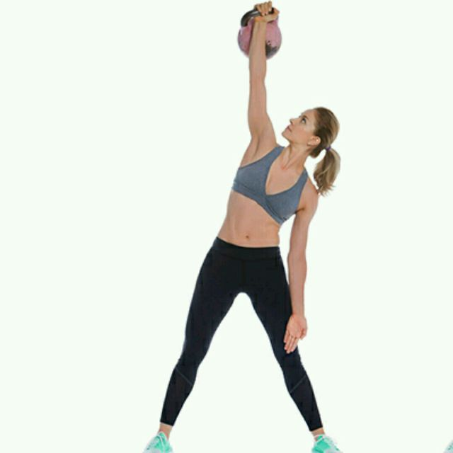 How to do: Kettlebell Windmill - Step 1