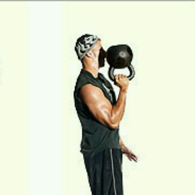 How to do: One-Arm Kettlebell Bottom Up Clean (Hang Position) - Step 3