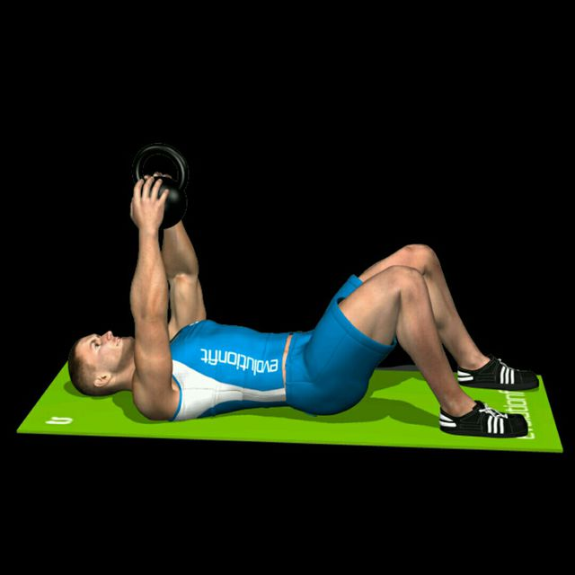 How to do: Kettlebell Crunch - Step 1