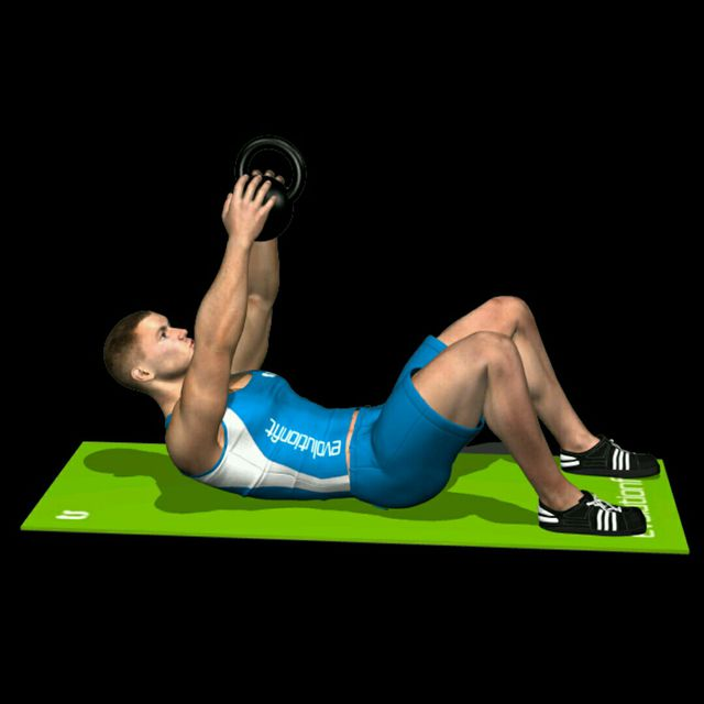 How to do: Kettlebell Crunch - Step 2