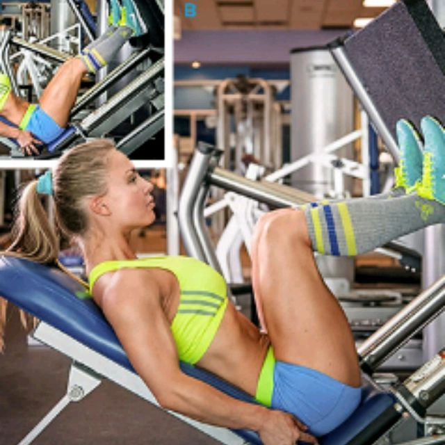 How to do: Seated Leg Press (narrow) - Step 1