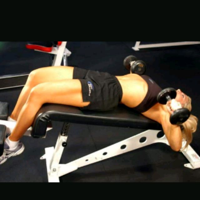 How to do: Decline Bench Press (8-10) - Step 1
