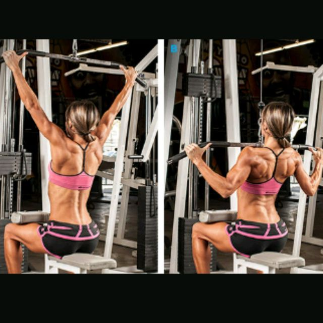How to do: Wide Grip Pulldown - Step 1