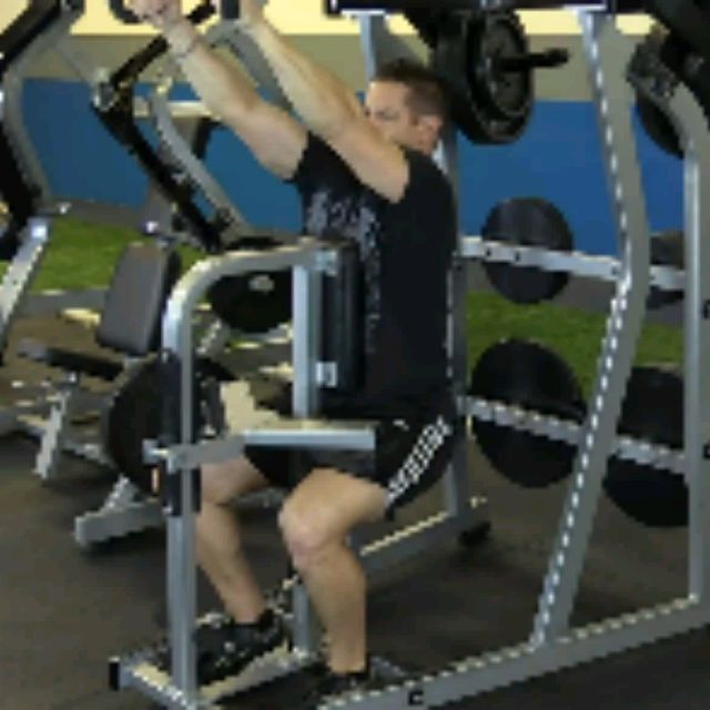 How to do: Plate Loaded High Row (10 To 12 Reps) - Step 4