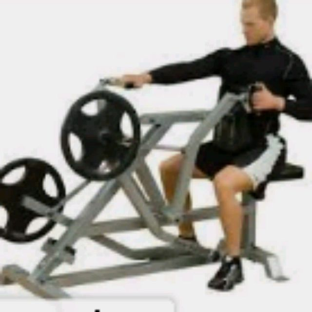 How to do: Plate Loaded Single Arm Seated Row (8 To 10 Reps) - Step 1