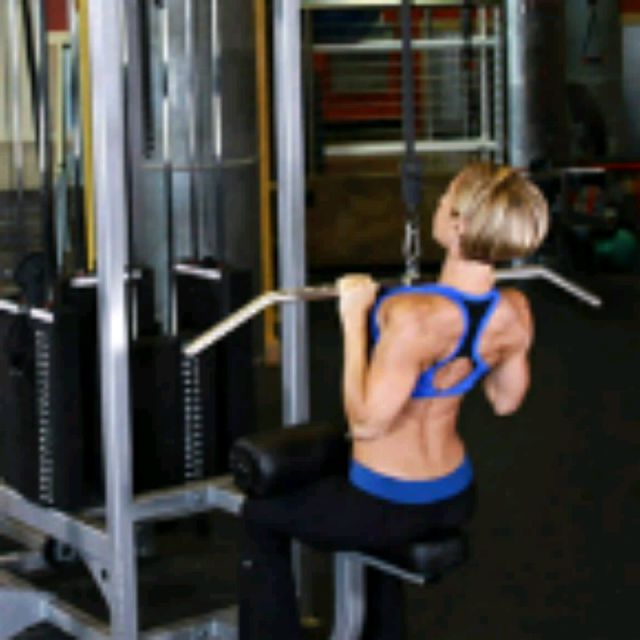How to do: Close Grip Pulldown - Step 2