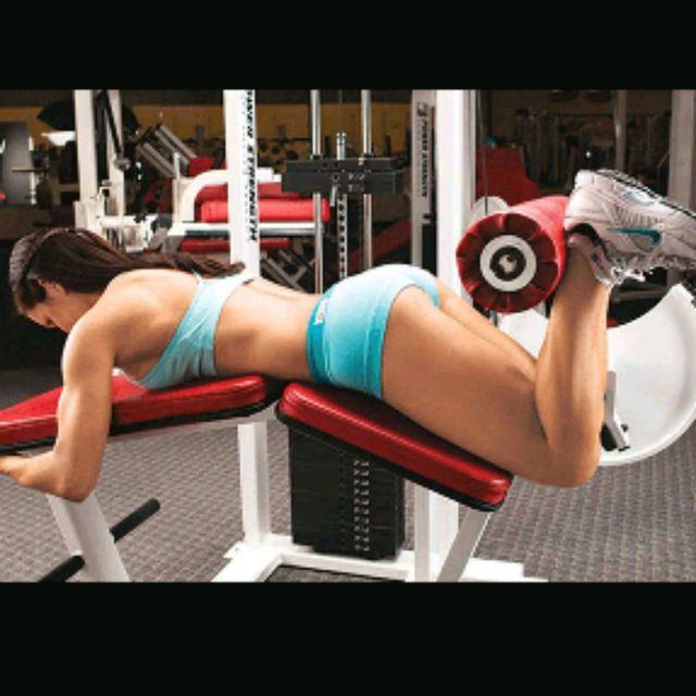 How to do: Lying Leg Curl - Step 1