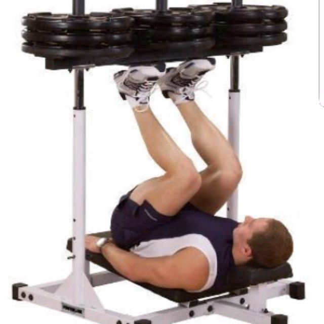 How to do: Vertical Leg Press - Step 1
